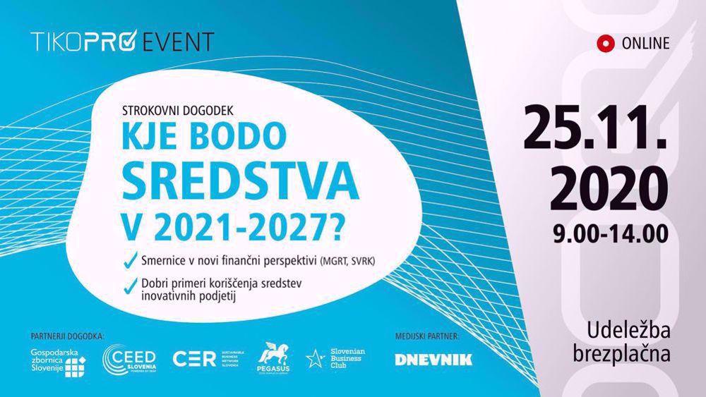 Picture of Strokovni dogodek: Kje bodo sredstva v 2021-2027: Posnetek predavanj 1. dela